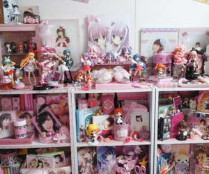 bedroom, kawaii, and Otaku image