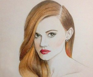 art, lydia, and teen wolf image