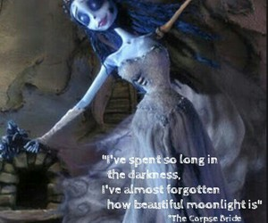 beautiful, moonlight, and corpse bride image