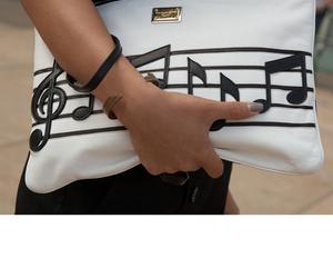 bag, fashion, and music image