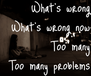 Avril Lavigne, Lyrics, and problem image