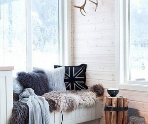 black&white, decoration, and home image