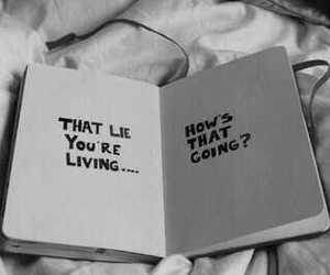 lies, book, and quotes image