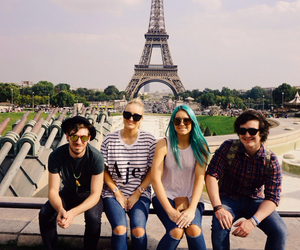 sheppard, band, and blue hair image