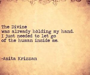 divine, human, and meditate image