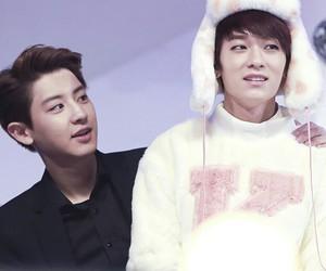 l.joe, chanyeol, and exo image