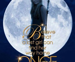 once upon a time, emma swan, and believe image