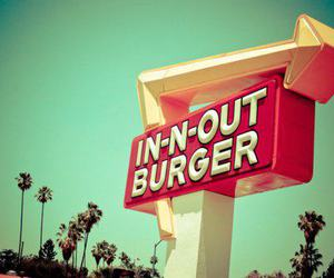 burger, colourful, and light image