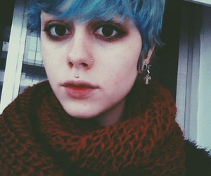 alternative, blue hair, and colored hair image