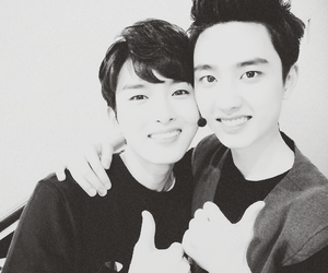 d.o, exo, and ryeowook image