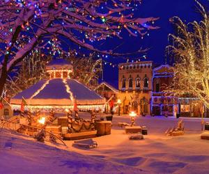 beautiful, christmas, and decorating image