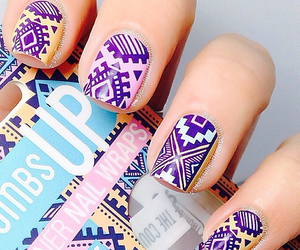 colorful, cool, and nails image