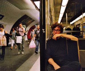 boy, train, and french image