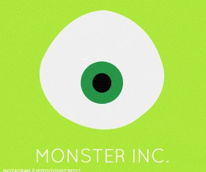 disney, mike, and monsters image