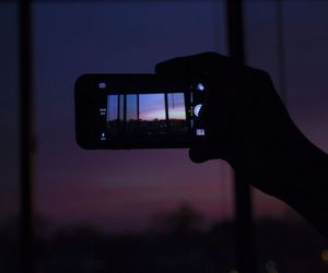 sunset and love image