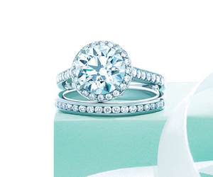 ring, silver, and tiffany image