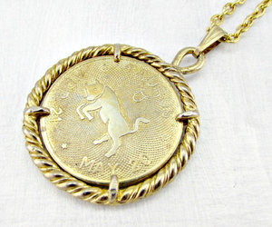 taurus necklace and mens zodiac necklace image