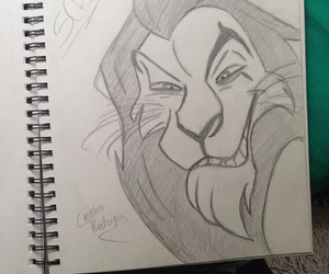 disney, draw, and in love image