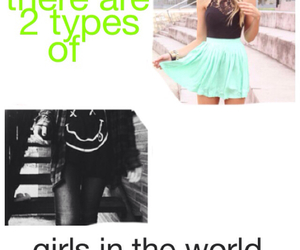 black, different, and girls image