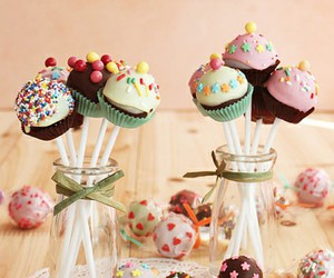 sweet, food, and cupcake image