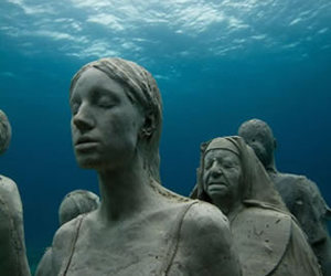 isla mujeres and mexico underwater museum image