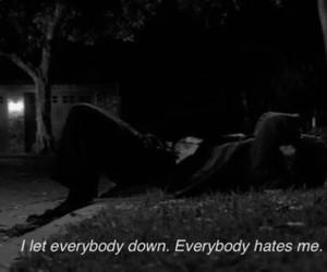 hate, sad, and depressed image