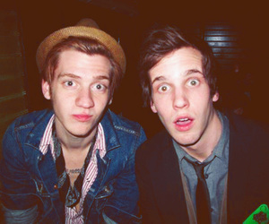 a rocket to the moon, nick santino, and kennedy brock image