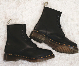dr martens, shoes, and love image