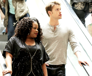 glee and samcedes image