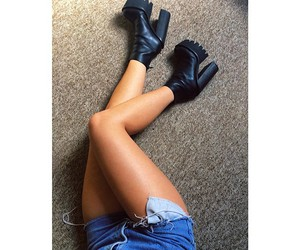 legs, shoes, and fashion image