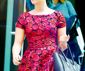 demi lovato, red, and demi image