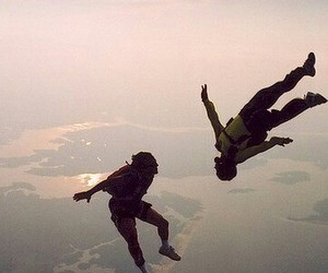 skydive, hollisterhousecontest, and skydiving image