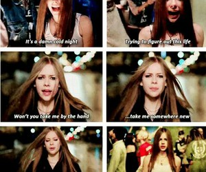 Avril Lavigne, music, and i'm with you image