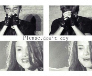 jelena, cry, and selena gomez image