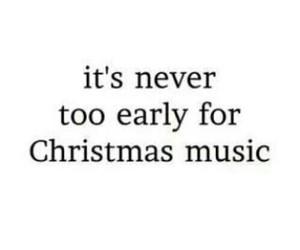 christmas, early, and music image