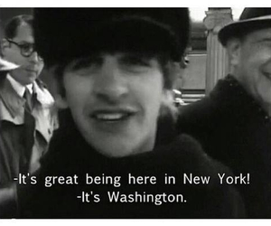 the beatles, funny, and ringo starr image
