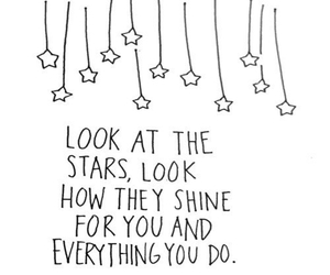 stars and text image