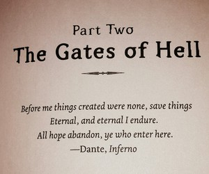 Dante, hell, and inferno image