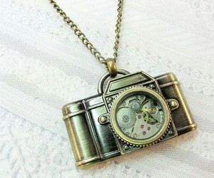 camera, cute, and necklace image