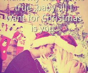 love, christmas, and lights image