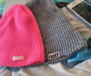 neff, hat, and pink image