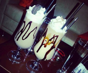 cafe, shakes, and snikers image