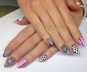nails, manicures, and nail art image