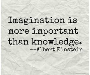 einstein, imagination, and quotes image