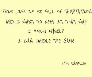 Lyrics, quotes, and the rasmus image