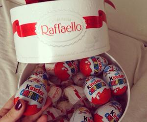 chocolate, raffaello, and kinder image