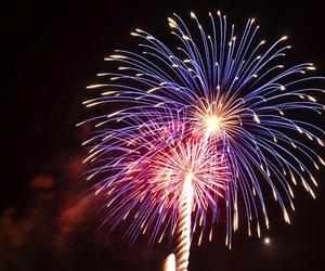 fireworks, grunge, and hipster image