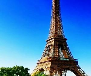 paris, eiffel tower, and eiffel image
