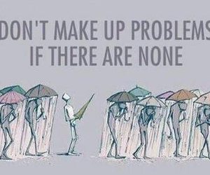 problem, quote, and life image