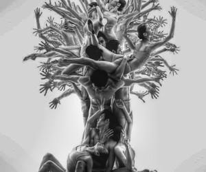 art, dancer, and music image